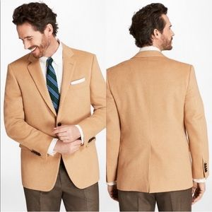 Brooks Brothers Men's Camel Hair Sport Coat